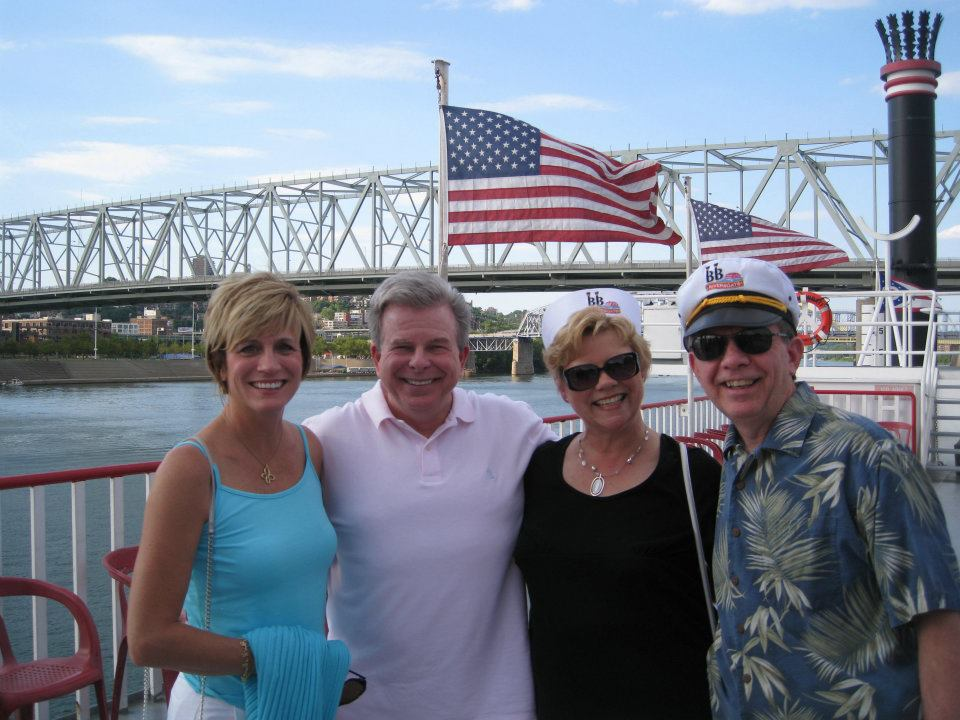 Centennial Team out on the BB Riverboats