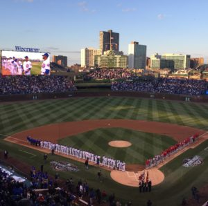 Chicago Cubs Opening Night