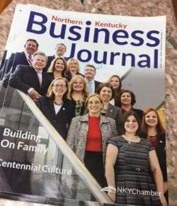 Centennial appeared on the cover of Northern Kentucky Business Journal