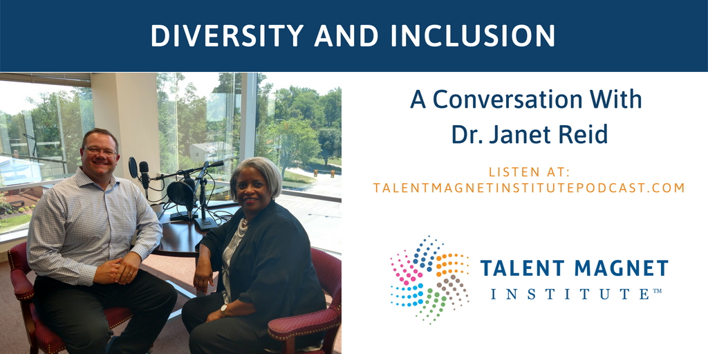 Dr. Janet Reid talks diversity and inclusion