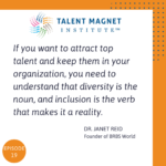 Diversity and Inclusion with Dr Janet Reid
