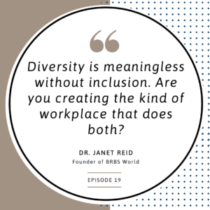 Diversity is meaningless without inclusion.