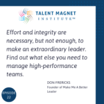 What Makes Leaders Extraordinary with Don Frericks