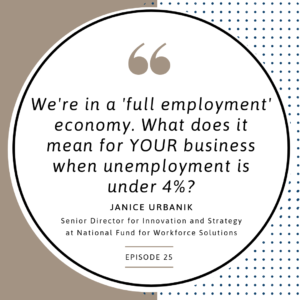 "What does a ""full employment"" economy mean for your business?"