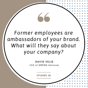 David Velie teaches us about company culture