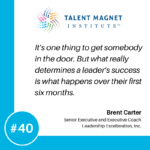 Building Strong Leaders with Brent Carter, Part 1