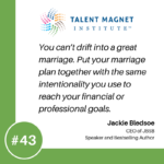Creating a Marriage Strategy with Jackie Bledsoe