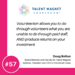 Why Volunteering is Great for Business with Doug Bolton